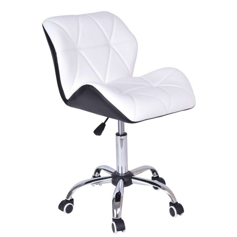 Krzesło Biurowe Moris Biało Czarne Dobra Cena Opinie Kup Teraz