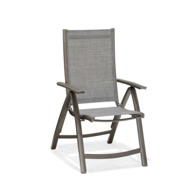 Krzesło Ogrodowe Składane Solana Aluminiowe Dobra Cena