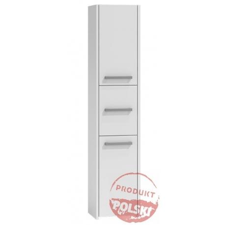 szafka łazienkowa słupek stojący 30 cm biały